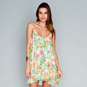 Show Me Your Mumu Cactus Cooler Mini Dress -M